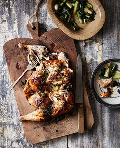 Roast Chicken with Herbs - A Delicious Mother's Day Menu That Would Make Her Proud