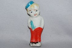 Vintage / Bisque / Doll / Bell Boy / Frozen by AmericanHomestead, $10.00