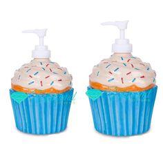 Cup cake Soap dispenser wedding or birthday souvenir . Harga isi 2 per biji bisa 2 warna misalnya 1 biru 1 pink . Birthday Souvenir, Soap Dispenser, Wedding Cakes, Dan, Diamond, Color, Soap Dispenser Pump, Wedding Gown Cakes, Colour