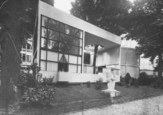 Ле Корбюзье / Le Corbusier. Павильон «ЭСПРИ НУВО» (Pavillon de L'Esprit Nouveau), Париж, Франция. 1925
