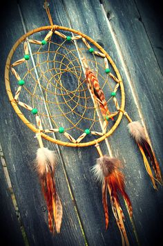 Dream Catcher Natural by 7WishesDreamcatchers on Etsy, $99.00