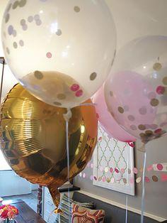 Pink & Gold Polka Dot Party | Cape27Blog.com
