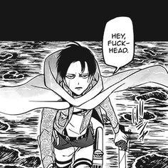 Manga Anime, Manga Art, Attack On Titan Levi, Levi X Eren, Anime Love, Anime Guys, Levi Memes, Titan Manga, Animes On