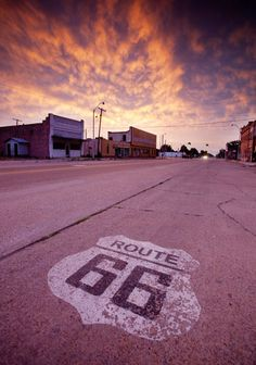 """Route 66, the most famous road in the United States, was established in 1926 and passed through eight states on its way from Chicago, IL to Los Angeles, CA (2,448 miles).  As a kid I travelled across the US with my Grandma Bessie in her convertible.....awesome """"road trip"""" memories.  She inspired my love of travel!"""