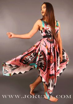 J. Okuma  native prom dress