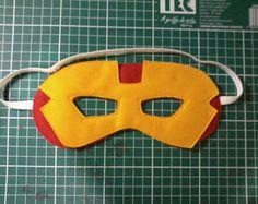 Mascara Super-herói Homem de Ferro                                                                                                                                                     Mais