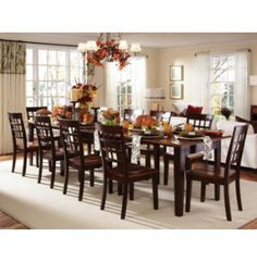 Bristol Point Collection | Dinettes | Dining Rooms | Art Van Furniture - Michigan's Furniture Leader - want a table that will change size like this for the dining room