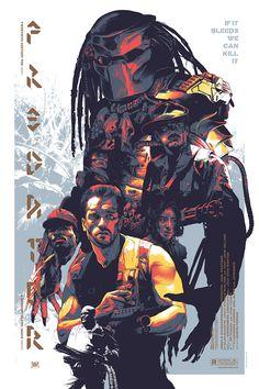"Predator Poster Art by Grzegorz ""Gabz"" Domaradzki"