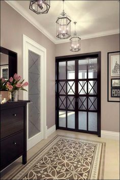 Trendy apartment door decorations entryway home decor 32 ideas Living Room Remodel, Living Room Decor, Home Interior Design, Interior Decorating, Halls, Apartment Door, Hallway Designs, Small Apartment Decorating, Cool Apartments