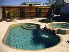 fiberglass pool and spa viking | Cape Coral fiberglass swimming pool designs
