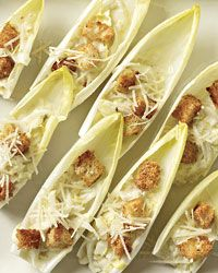 Ceasar Salad Spears - Have to make this - a great light hor d'oeuvres option!