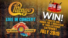 Enter for your chance to win Super Fan tickets to the Chicago/Doobie Brothers Concert! Only at NBCChicago.com