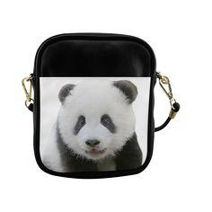 Panda Bear Sling Bag (Model 1627)