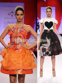 Swapnil Shinde - Trend Voluminous Silhouettes and Micro Pleating.