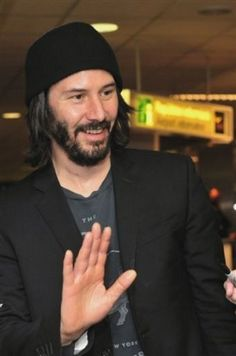 Keanu Reeves 2012 Still as hot as ever. I think he's getting sexier as he ages!