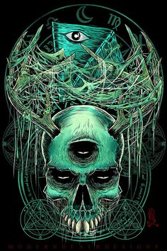 #2 Illustration by Moderndeath Designs, via Behance
