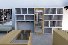 Rendering proposal for an Argentinian brand (Purse shelf) Style: Minimalist / Rococo #interiordesign #prüne #design