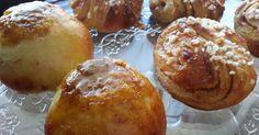 NYT se on löytynyt, nimittäin The Pullataikina! Ikinä koskaan, en ole tehnyt näin pehmeitä pullia. Rapea kuori ja pehmeä sisus ja maku ai... Sweet Recipes, Cake Recipes, Bakewell Tart, Something Sweet, Healthy Treats, Pretzel Bites, Vegan Desserts, Baked Goods, Muffin