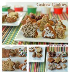 Cashew Cookies from super healthy kids