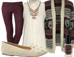 clothes knit - Casual Outfit - stylefruits.co.uk