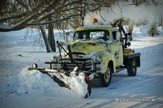 '54 GMC tow truck-this old dog learned new tricks as a snow plow...very cool story: http://www.mystarcollectorcar.com/3-the-stars/star-truckin/2245-march-2014-1954-gmc-tow-truck-theres-no-retirement-for-a-working-class-truck.html