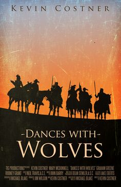 Dances with Wolves (1990) ~ Alternative Movie Poster by Benjamin Capazo…