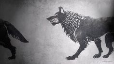 A song of ice and fire fan art game thrones hbo house stark sigil 18656 widescreen desktop mobile iphone android hd wallpaper and desktop. Ice Game Of Thrones, Hound Game Of Thrones, Game Of Thrones Khaleesi, Game Of Thrones Tattoo, House Stark Sigil, Fire Fans, Dire Wolf, Wolf Spirit, Artwork Pictures