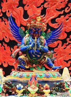 Culture Tibétaine : sculpture au beurre