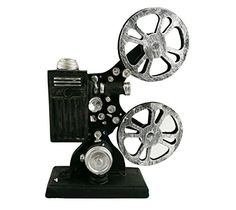 Creative Retro Vintage Old Resin Film Projector Ornament ...