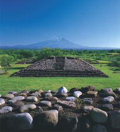 La Campana, Colima, México. Near the city of Colima, his site was the largest prehispanic population center in western Mexico.