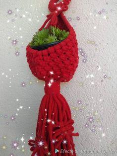 Macrame plant hanger/ hanging planter for succulent pe cactus Cotton Plant, Hanging Planters, Plant Hanger, Macrame, Cactus, Succulents, My Etsy Shop, Handmade Gifts, Plants