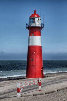 Westkapelle Laag Noorderhoofd #Lighthouse - Westkapelle, Zeeland, #Netherlands - http://dennisharper.lnf.com/