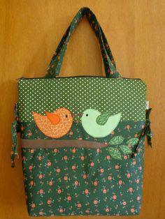 bolsa+verde+passarinhos.JPG (1200×1600)