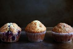 Basic Muffins // 2 C flour, 1 T baking powder, 1/2 C sugar, 1/2 t salt, 1 C milk, 1 t vanilla, 1/4 C oil or melted butter, 2 large eggs