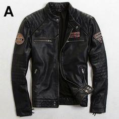 5dbba583496 ... de moda Británica Delgado Hombres chaqueta de la motocicleta de Los  Hombres de Tendencia Multi-Estándar chaquetas de cuero. Roupa Motociclista Ropa ...