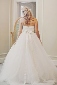 Princess Style Wedding Gown.