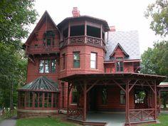 mark twain house - magical!