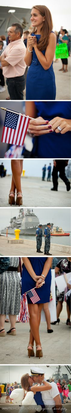 32nd Street | Naval Base San Diego Homecoming, military homecoming, SWO family, navy wife ‹ Hauteshoe Studio