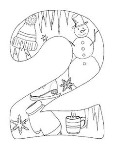 Welcome the new year 2018 with coloring pages featuring the four seasons -- winter, spring, summer and fall. This listing is for a set of four coloring pages with the digits 2018 for the new year. Each digit represents one season of the new year. These are my (Susan) original drawings and designed to be printed on standard 8.5 X 11 inches (21 X 27 cm) size paper.