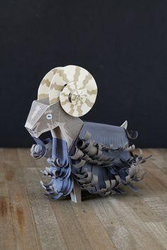 Schaf04 Faltmanufaktur 2015 Year of the sheep