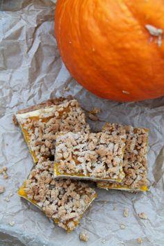 yummy muffin: Dýňové kousky s kořeněnou drobenkou