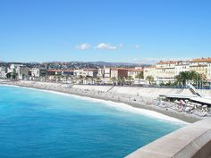 That blue! Nice, Cote d'azur, South of France.