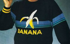 This potassium-rich piece: | 12 Incredible Vintage Sweaters We'd Rock In A Heartbeat