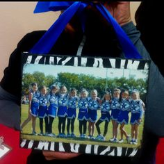 great for first game little sis gift or for a senior giveaway gift Dance Team Gifts, Cheer Gifts, Cheer Dance, Cheer Bows, Cheer Spirit, Spirit Gifts, Cheer Camp, Cheer Coaches, Cheerleading Crafts