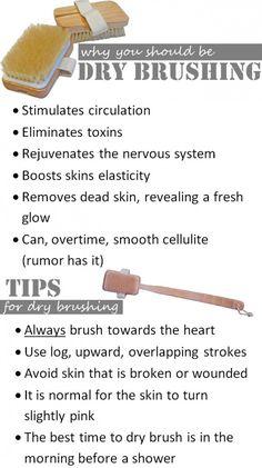 dry body brushing instructions