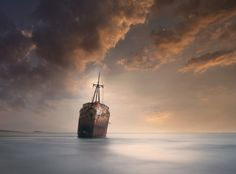 Shipwreck in Gytheio, Greece  Like my  Official FB page  Check my Website for prints  Vassilis Tangoulis|Fine Art Photography