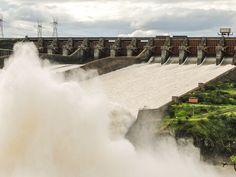 A força das águas de Itaipu!