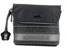 kimmidoll Schultertasche schwarz Stickerei Anhänger - Bags & more Bags, Style, Fashion, Embroidery, Black, Handbags, Swag, Moda, Fashion Styles
