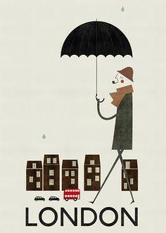 cosas mínimas: Illustrated cities