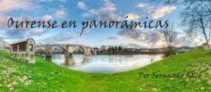 Fernando Sacó: Ourense en Panorámicas en Mesón O Queixo, Ourense exposición